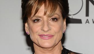 In this June 12, 2011 file photo, actress Patti LuPone arrives at the 65th annual Tony Awards in New York. (AP Photo/Charles Sykes, File)