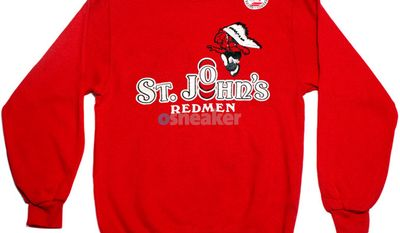 St. John's University dumped the Redmen for the Red Storm.