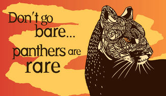 Condoms with messages about preventing human births to save animal species will be passed out July 11, 2015 for World Population Day, said the Center for Biological Diversity. (Image courtesy of the Center for Biological Diversity)