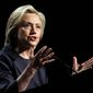 Democratic presidential candidate Hillary Rodham Clinton's economic platform is expected to include familiar liberal tropes such as a call to raise the minimum wage, heavily taxing the superrich, investment in infrastructure and subsidizing college tuition. (Associated Press Photographs)
