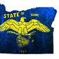Illustration on Oregon and the effects of Liberal statism by Alexander Hunter/The Washington Times