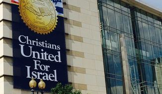 Citizens United for Israel is in the nation's capital for a major conference that includes 5,000 attendees and plenty of input from presidential hopefuls, pastors, activists and lawmakers. (Citizens United for Israel)