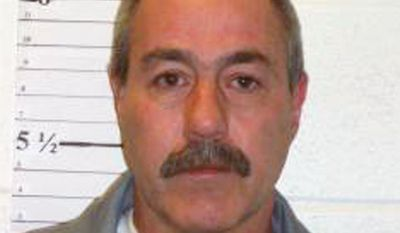 This Dec. 1, 2013 photo provided by the Missouri Department of Corrections shows David Zink, who was convicted of abducting and killing 19-year-old Amanda Morton in 2001. (Missouri Department of Corrections via AP) ** FILE **