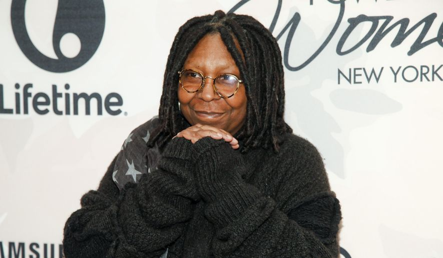 In this April 24, 2015, file photo, Whoopi Goldberg attends Variety's Power of Women Luncheon at Cipriani Midtown, in New York. (Photo by Andy Kropa/Invision/AP, File)