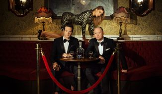 Mayer Hawthorne and Jake One are Tuxedo. (Piper Ferguson)