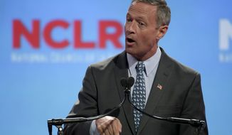 Democratic presidential hopeful Martin O'Malley is eager to challenge Hillary Rodham Clinton on the debate stage and to strengthen his national name recognition, but he will have to wait for the Democratic National Committee to schedule candidate face-offs. (Associated Press/File)