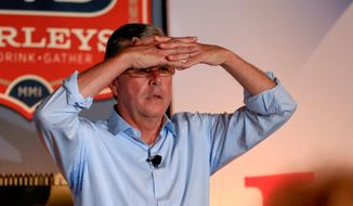 Former Florida Gov. Jeb Bush trounced the Republican presidential field in fundraising in the first major report of the 2016 campaign. (Associated Press)