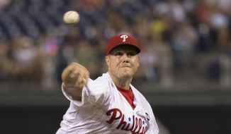 Philadelphia Phillies pitcher Jonathan Papelbon throws during the ninth inning of a baseball game against the Tampa Bay Rays, Monday, July 20, 2015, in Philadelphia. The Phillies won 5-3. (AP Photo/Chris Szagola) **FILE**