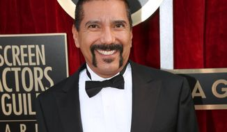 "Steven Michael Quezada an actor on the TV series ""Breaking Bad,"" arrives at the 20th annual Screen Actors Guild Awards in Los Angeles. Mr. Quezada is jumping in a race for a heated county commissioner seat in Albuquerque. Mr. Quezada, who played DEA agent Steven Gomez in the hit AMC-TV series ""Breaking Bad&quot,"" said Monday, July 20, he will announce this week that he will run for the Bernalillo County Commission. (Photo by Matt Sayles/Invision/AP, File)"