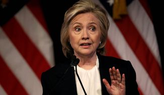 Secretary of State Hillary Rodham Clinton (Associated Press) **FILE**
