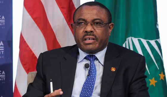 Long criticized for human rights abuses and attacks on press freedom, Prime Minister Hailemariam Desalegn and his ruling Ethiopian People's Revolutionary Democratic Front coalition has been in power for more than two decades and captured every seat in May's parliamentary elections. (Associated Press)
