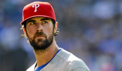 The Texas Rangers acquired Philadelphia Phillies ace Cole Hamels on Wednesday night. (Associated Press)
