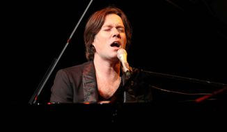 Rufus Wainwright performs with the National Symphony Orchestra at Wolf Trap on Friday. (Associated Press)