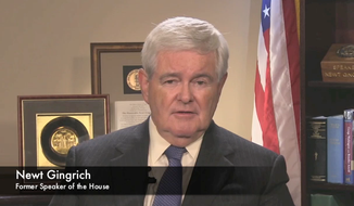 Newt Gingrich screen shot 07-28-15
