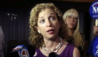 Debbie Wasserman Schultz, DNC chairwoman (Associated Press) **FILE**