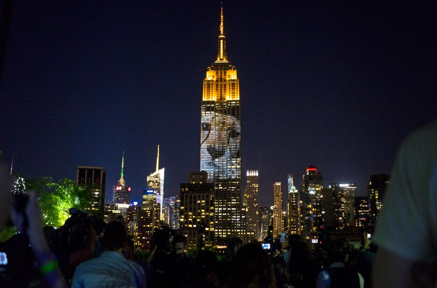 Culture Wars Funny: Empire State Building's $1M Cecil the lion display outrages 'Black Lives Matter' supporters 38b73bb07118ea227d0f6a70670018f8_s878x578