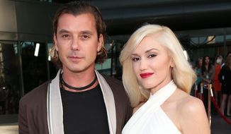 "FILE - In this June 4, 2013 file photo, musicians Gavin Rossdale, left, and Gwen Stefani attend the LA premiere of ""The Bling Ring"" in Los Angeles. Stefani and Rossdale have filed for divorce after 12 years of marriage. Los Angeles Superior Court spokeswoman Mary Hearn says Stefani filed her petition Monday, Aug. 3, 2015, and Rossdale filed a response shortly thereafter. Stefani cited irreconcilable differences for the breakup and both are seeking joint custody of their three children.  (Photo by Todd Williamson/Invision/AP, File)"