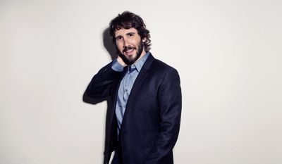 American singer, songwriter, actor and record producer Josh Groban will swing through D.C. in September as part of his current tour, playing one show at DAR Constitution Hall on Sept. 14. (Associated Press)