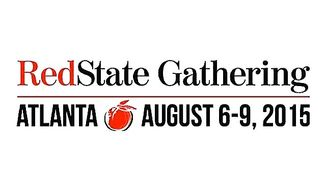 Debate? What debate? The Republican hopefuls have rushed off to the RedState Gathering, which begins Friday.