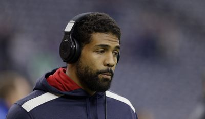 In an interview with ESPN the Magazine released Thursday, Houston Texans running back Arian Foster said he is fairly open about his atheism in his circles and gets some odd reactions. (Associated Press)