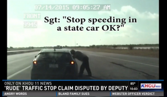 Democratic Texas state Rep. Garnet Coleman's claim that he was mistreated by a sheriff's deputy during a recent traffic stop is being disputed following release of the deputy's dashcam footage. (KHOU)