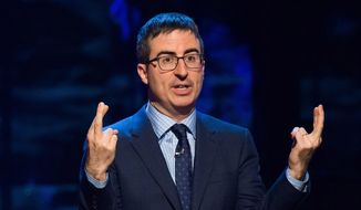John Oliver speaks at Comedy Central's Night of Too Many Stars: America Comes Together for Autism Programs. (Photo by Charles Sykes/Invision/AP, File)