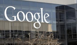 This Thursday, Jan. 3, 2013, photo shows Google's headquarters in Mountain View, Calif. Google on Monday, Aug. 10, 2015 announced it is changing its operating structure and will become part of a holding company called Alphabet. (AP Photo/Marcio Jose Sanchez, File)