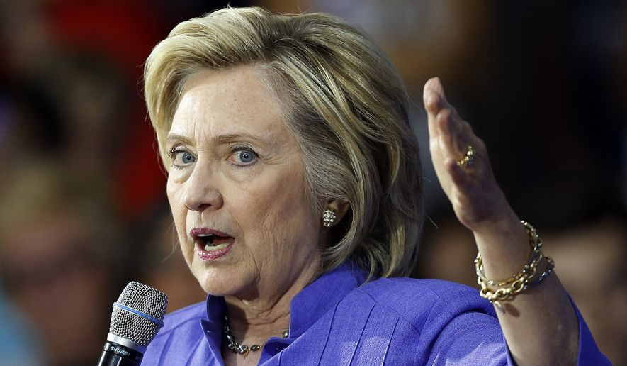 Hillary Rodham Clinton's plan would direct law enforcement agencies to crack down on for-profit colleges that engage in deceptive marketing, fraud, and other illegal practices. (Associated Press)
