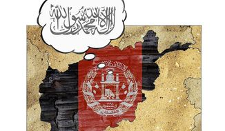 Civic Order in Afghanistan Illustration by Greg Groesch/The Washington Times