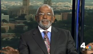 NBC Washington anchor Jim Vance argued during Monday's broadcast that giving children participation trophies amounts to child abuse, siding with Pittsburgh Steelers linebacker James Harrison who decided to strip his two sons of their awards over the weekend. (NBC4 Washington)