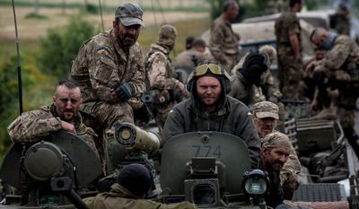 Ukrainian troops have not received U.S. weapons, partially because of the Obama administration's concern about the Kiev government. (Associated Press)
