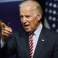 Speculation is increasing that Vice President Joseph R. Biden will make a run for the White House, following a weekend meeting with Sen. Elizabeth Warren, Massachusetts Democrat, and Mr. Biden's hiring of new communications director, Kate Bedingfield. (Associated Press)