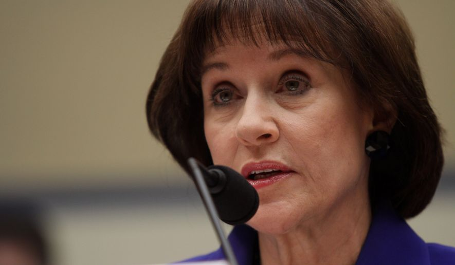 Lois Lerner's emails became an issue after she was singled out as a key figure in the IRS's treatment of tea party and conservative groups who sought tax-exempt status. The IRS improperly delayed hundreds of applications and sent out intrusive questionnaires asking what the agency now says were inappropriate inquiries. (Associated Press)