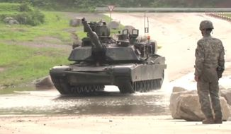 Watch Abrams tanks at Rodriguez Live Fire Range, South Korea. Footage of 1/9 CAV, 2nd Armored Brigade Combat Team, 1st Cavalry Division highlights Abrams tanks at Rodriguez Live Fire Range, South Korea.