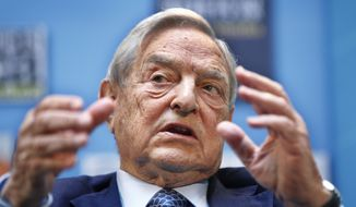 George Soros's foundation gave $26.4 million in grants and projects to U.S. universities in 2013 alone. Mr. Soros is just one of several ideological billionaires who are using part of their wealth to shape the agenda, research and curricula at the college level where the next generation of American adults are being informed. (Associated Press)