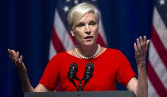 "Cecile Richards, president of the Planned Parenthood Federation of America, admitted in an 11-page letter on Aug. 27 that its affiliates have accepted payments ranging from $45 to $60 ""per tissue specimen"" from abortions, but said that they were reimbursements to cover costs, which federal law allows. (Associated Press)"