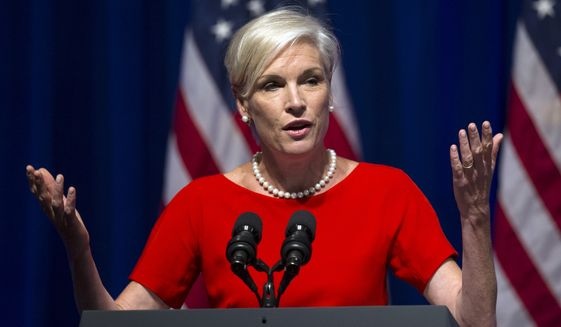 """Cecile Richards, president of the Planned Parenthood Federation of America, admitted in an 11-page letter Thursday that its affiliates have accepted payments ranging from $45 to $60 """"per tissue specimen"""" from abortions, but said that they were reimbursements to cover costs, which federal law allows. (Associated Press)"""