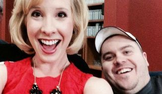 Alison Parker and Adam Ward gather for a fun selfie that Ms. Parker posted on her Facebook page in 2014.