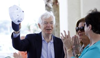 U.S. Sen. Thad Cochran, R-Miss. **FILE (AP Photo/Rogelio V. Solis)