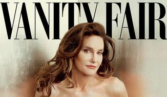 Caitlyn Jenner on the cover of Vanity Fair    Associated Press photo