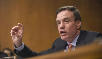 Sen. Mark Warner, Virginia Democrat. (AP Photo/Susan Walsh) ** FILE **