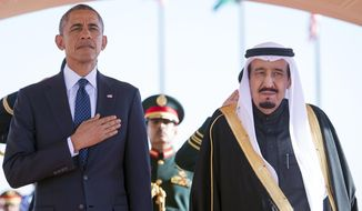 President Obama's meeting with King Salman bin Abdulaziz Al Saud comes as debate over the Iran nuclear deal rages in Washington. (Associated Press)
