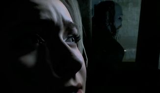 "Actress Hayden Panettiere co-stars in the PlayStation 4, interactive horror movie ""Until Dawn."""
