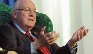 "Former Vice President Dick Cheney described the deal, which lifts economic sanctions on Iran in exchange for limits and inspections on Iran's nuclear capability, as a ""major, major defeat in terms of our position in the region.  The only winners are the Iranians. They got everything they asked for,"" Mr. Cheney said. (The Register-Herald via Associated Press)"