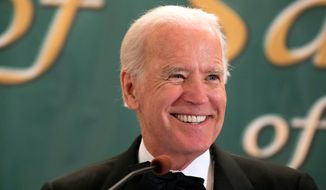 """Regarding the decision on whether or not to run for president, Vice President Joseph R. Biden, Jr. said the """"most relevant factor in my decision is whether my family and I have the emotional energy to run."""" (Associated Press)"""