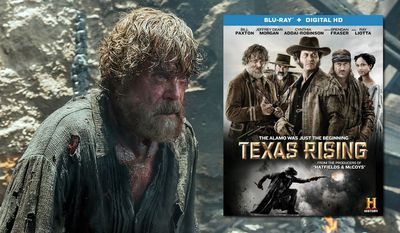"""Ray Liotta as Lorca in the History mini-series """"Texas Rising,"""" now available on Blu-ray from Lionsgate Home Entertainment."""
