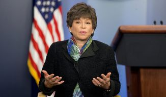 """""""President Obama is doing what he can to expand access to this basic workplace protection,"""" White House senior advisor Valerie Jarrett said. (Associated Press)"""