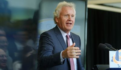 General Electric Co. Chief Executive Officer Jeffrey Immelt threatened to move company jobs overseas if Congress didn't reauthorize the Export-Import Bank. (Associated Press)