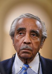"Rep. Charles B. Rangel, New York Democrat and longtime Hillary Rodham Clinton booster, said there was ""no question"" that the email scandal had hurt her. ""Opinions by most Americas are not about issues but [if] you like the person. That's what she's working on. I know she's trying,"" he said, shaking his head. ""I know she's trying."" (Associated Press)"