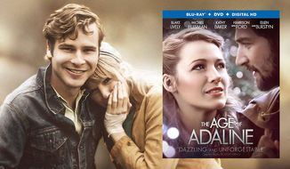 """Anthony Ingruber and Blake Lively in """"The Age of Adaline,"""" now available in Blu-ray."""